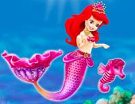 Baby Mermaid Princess Dress Up