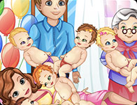Barbara Gives a Birth to Six Kids