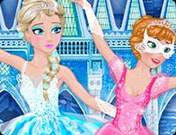 Frozen Sisters Ballerina's