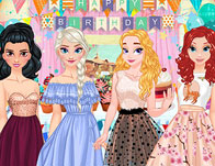 Princess Birthday Fashion Challenge