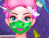Princess Elsa Facial Spa