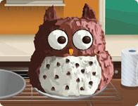 Sara's Cooking Class Owl Cake