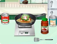 Sara's Cooking Class: Pizza Burger