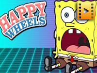 Sponge bob levels: Happy Wheels